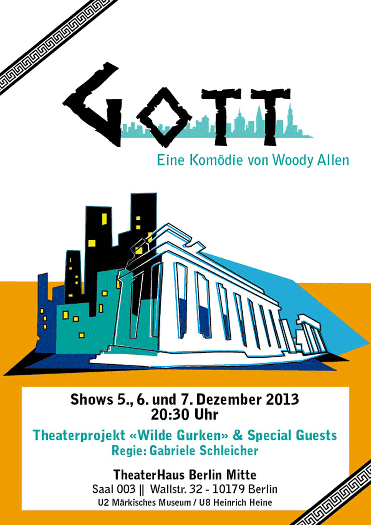 Poster theaterplay God